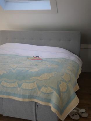 bedroom decor retro wool blanket